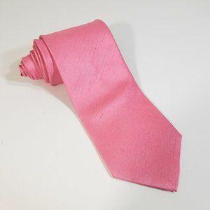 Van Buck England Men Tie Pink Classic Necktie